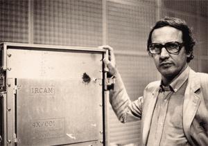 Giuseppe di Giugno et la 4X de l'IRCAM