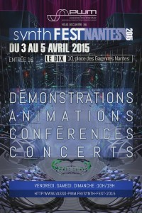 Affiche Synth Fest 2015