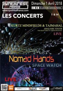 Concert Kurtz Mindfields au SynthFest France 2018 @ SynthFest France   Nantes   Pays de la Loire   France